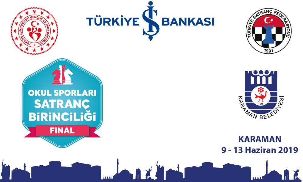 2019 Türkiye Okul Sporları Satranç Birinciliği